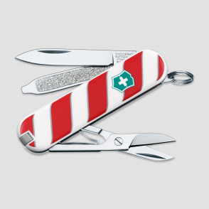 Нож -брелок, Classic, 58 мм, 7 функций, Lollipop, VICTORINOX, Швейцария, Швейцария